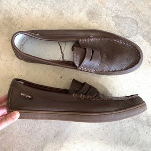 Cole Haan Leather Slip-on Loafers Shoes